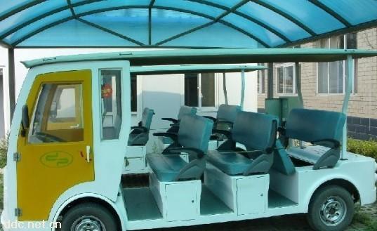武汉二手电动游览观光车
