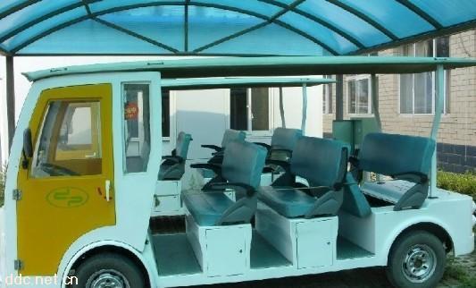 武汉14座二手电动游览观光车