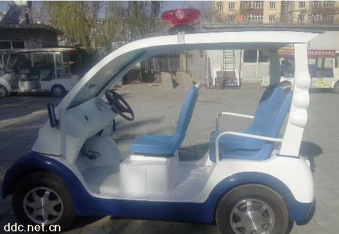 武汉4座社区用电动警车