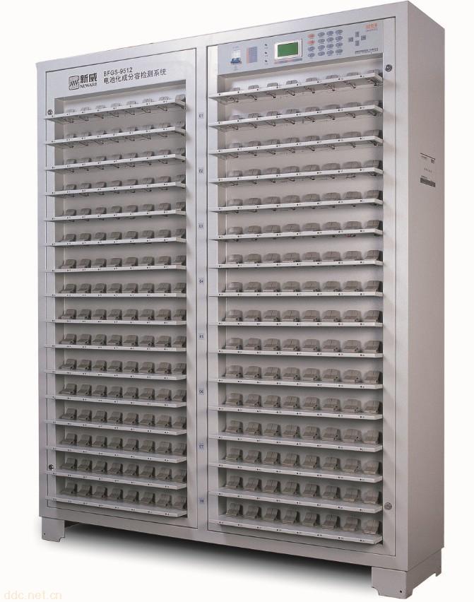 锂聚合物电池512点分容柜