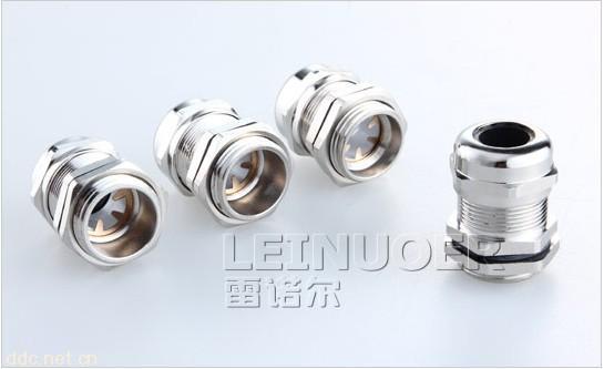 屏蔽式电缆接头,电磁屏蔽式电接头,电磁兼容金属锁紧头