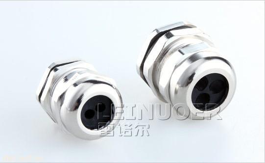 多孔金属电缆防水接头,多芯金属电缆接头,多孔电缆密封头