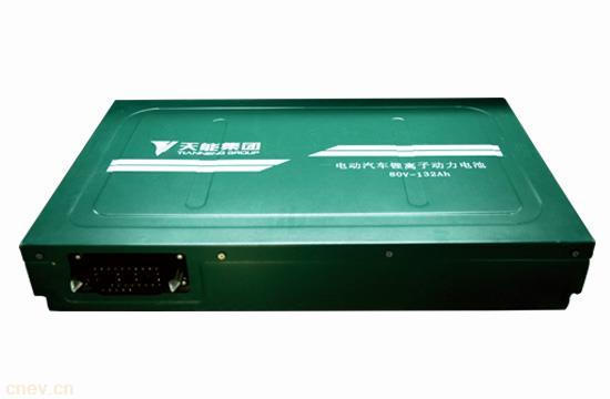 天能电动汽车用锂电池80V-132Ah