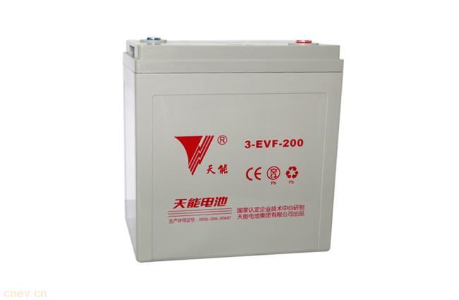 天能电动汽车电池3-EVF-200