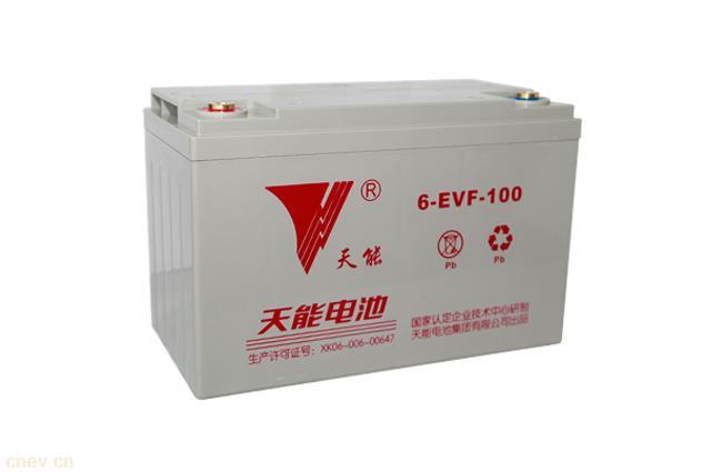 天能电动汽车电池6-EVF-100