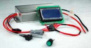 24V 8串 持续80A磷酸铁锂 电池管理系统BMS 带通讯功能的高端BMS