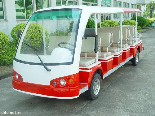 广东十七座电动游览车