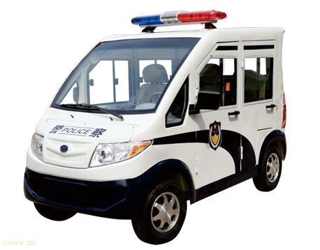 GD5JF五座电动警车(带门)