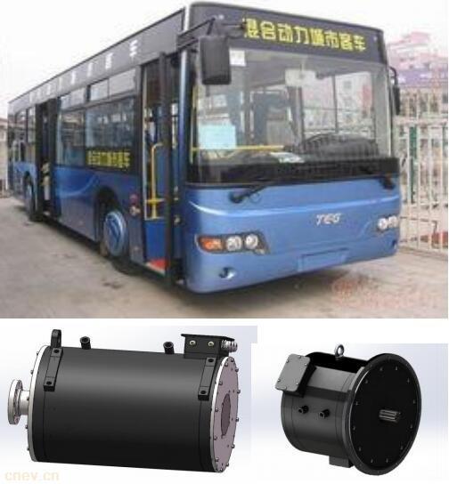 KDS混合动力大巴驱动电机