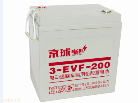 3-EVF-200铅酸电池