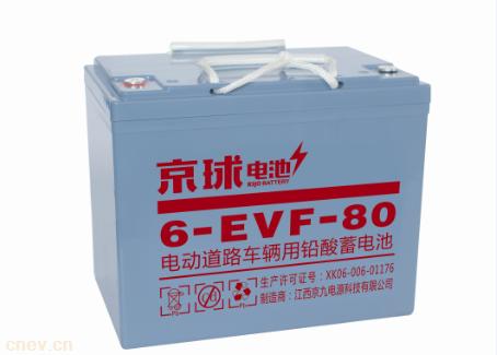 6-EVF-80铅酸电池