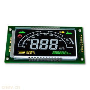 定制各种断码汽车仪表仪盘液晶屏