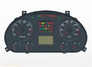 ZB205组合仪表功能