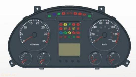 ZB206组合仪表功能
